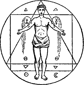 The Philosophic Seal of the Society of the Rosicrucians.